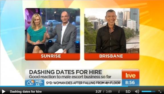 Brisbane Male Escorts with Kochie and Mel